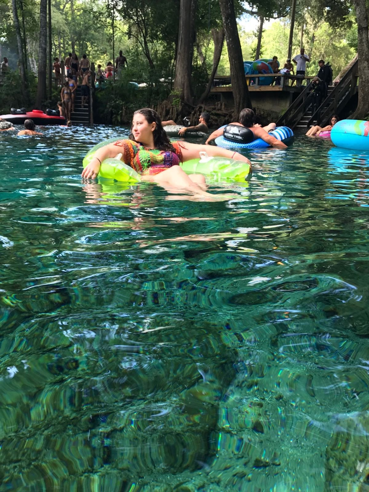 Ginnie Springs Florida Estados Unidos