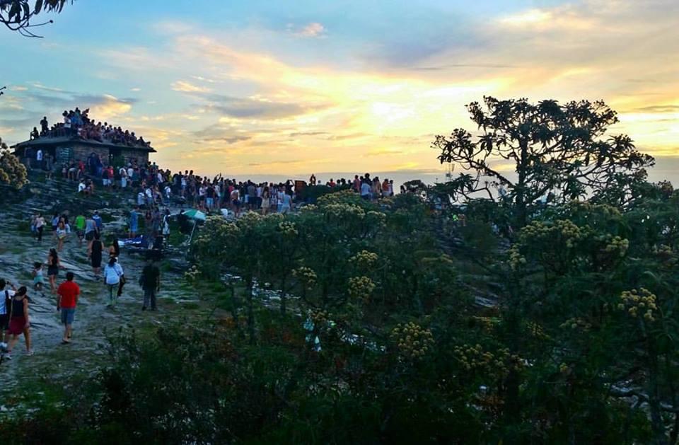 Pôr do sol | O que fazer em São Thomé das Letras MG