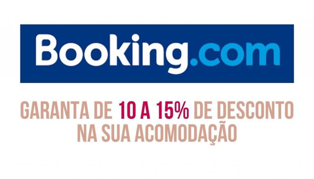 descontos booking para viajar