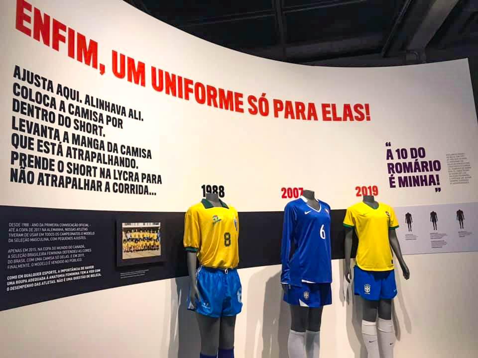 Visita ao Museu do Futebol em São Paulo