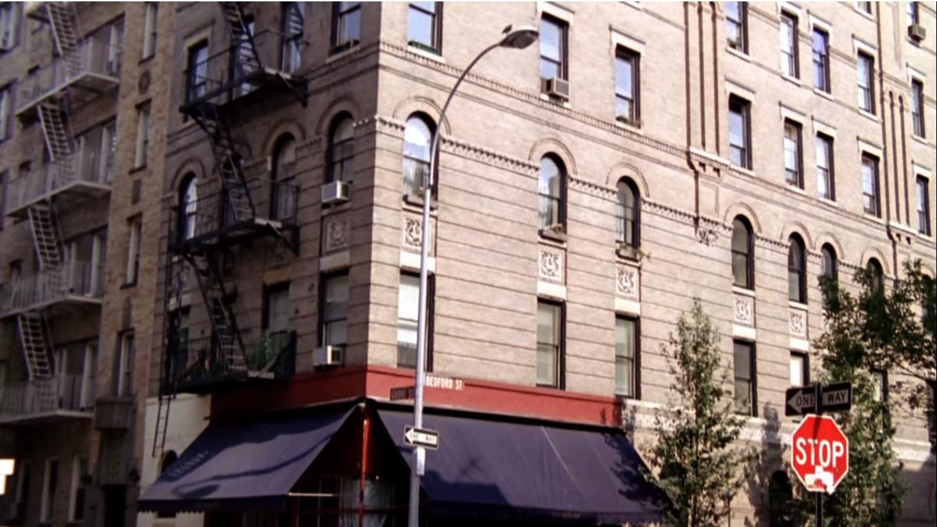 cenários de filmes e seriados em nova york