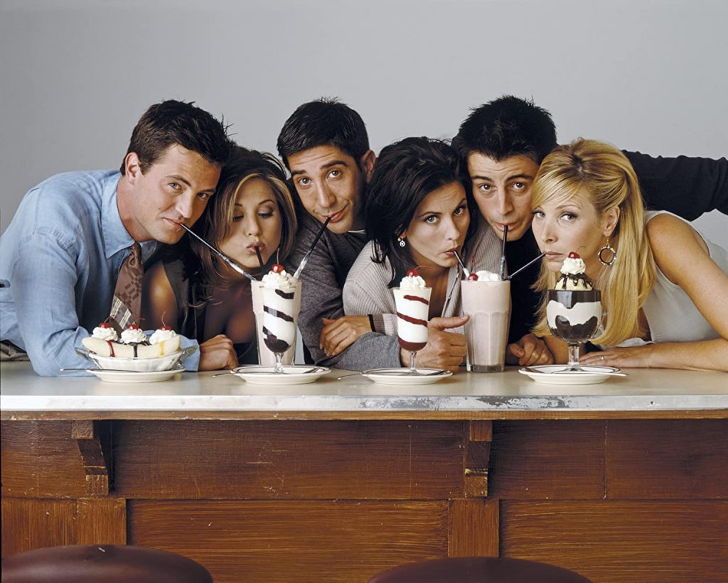 Séries leves Netflix - Friends